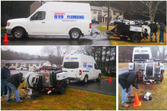 Adams 919 Plumbing - Raleigh, NC - Manhole to Manhole Cleaning