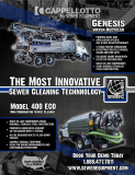 Genesis and Model 400 - The Most Innovative Sewer Cleaning Technology