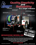 Mongoose Jetters - Quality, Simplicity, and Reliability in a Single Machine