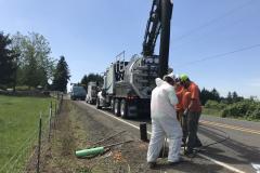 vac on the go, hydro excavator