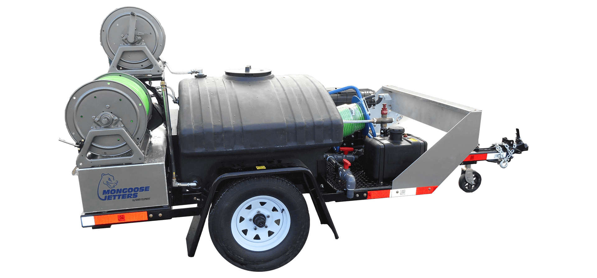 Model 123 Sewer Cleaner, Sewer Cleaner Trailer, Mongoose Jetters