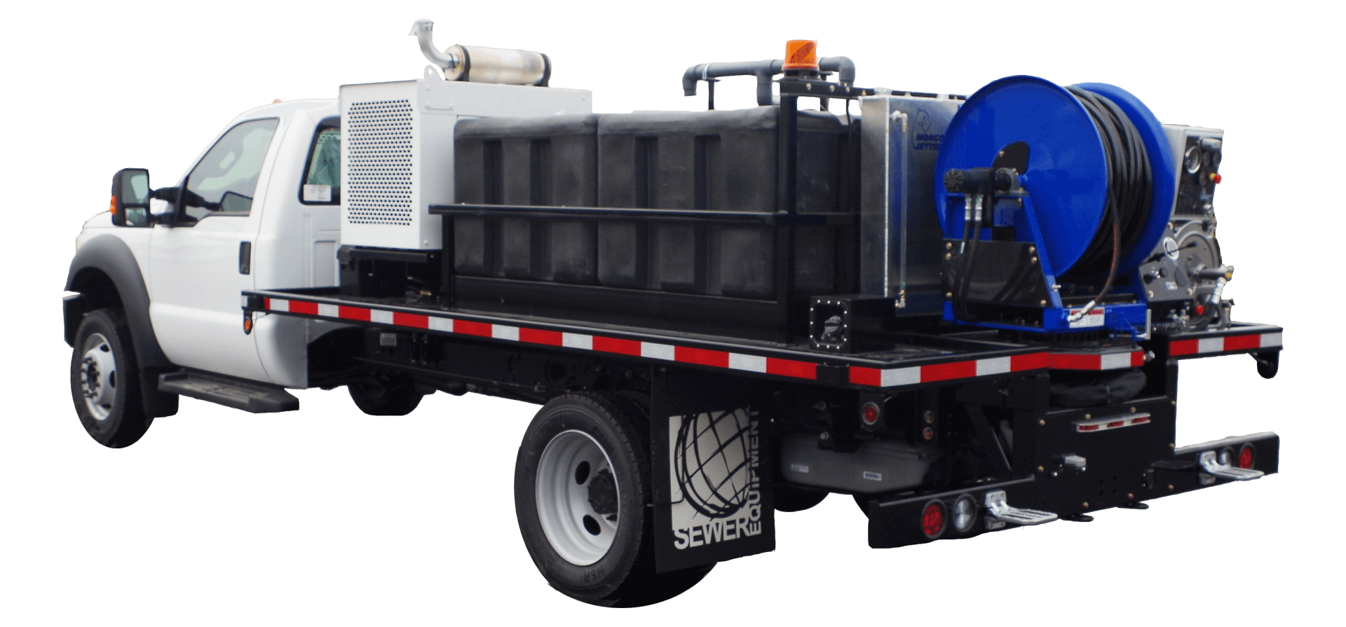Mongoose Jetters, Model 402, Jetter Truck