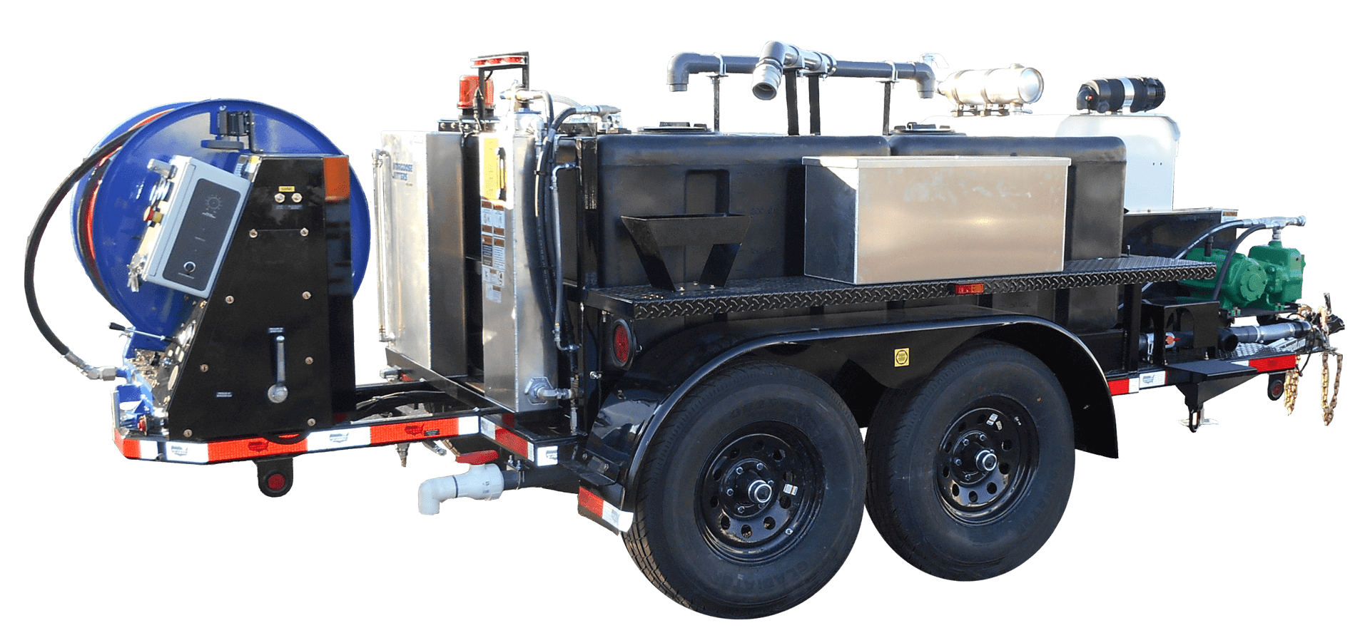 Mongoose Jetters, Model 402XL, Jetter Trailer, jetter