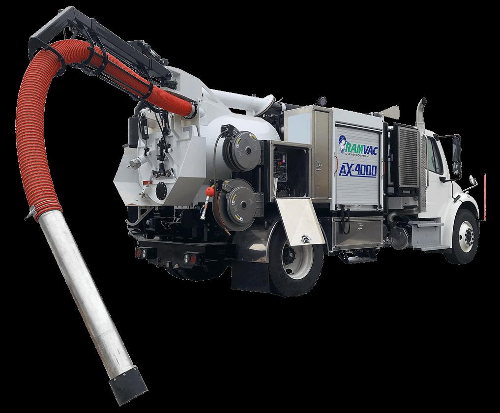 Air Excavation Truck, AX-4000XL