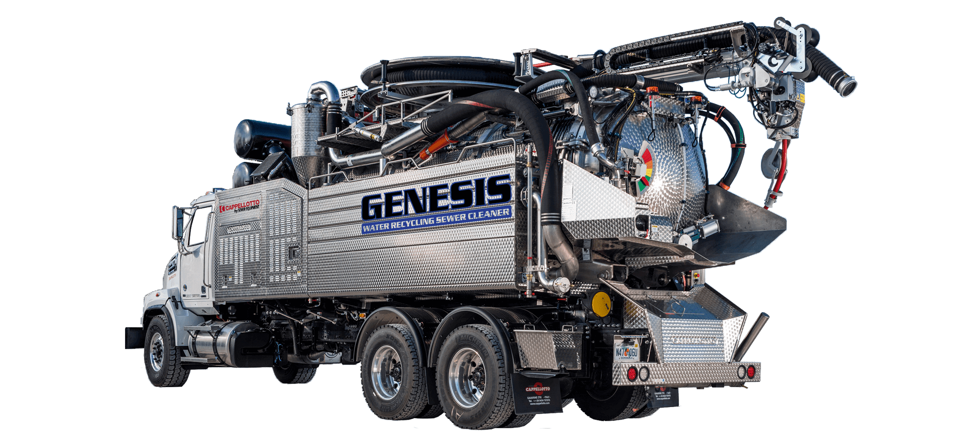 Genesis, Water Recycler Sewer Cleaner, Cappellotto