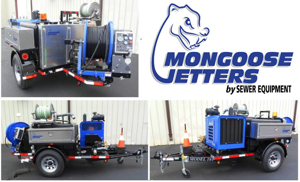 Model 184 Trailer,Dual aluminum toolboxes, swivel hose reel, full function wireless remote control system, 500 feet of high pressure jetting hose, self-contained Anti-Freeze system, rounded fenders and inlet water fill hose & reel