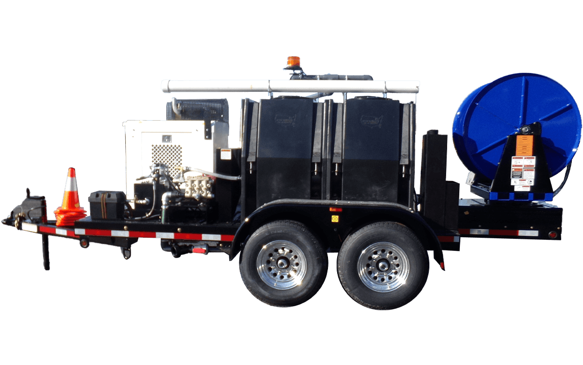 Model 545, Jetter Trailer, Sewer Equipment Co. of America