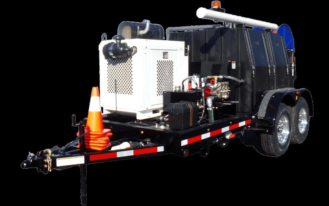 Model 545, Jetter Trailer, Sewer Equipment Co. of America