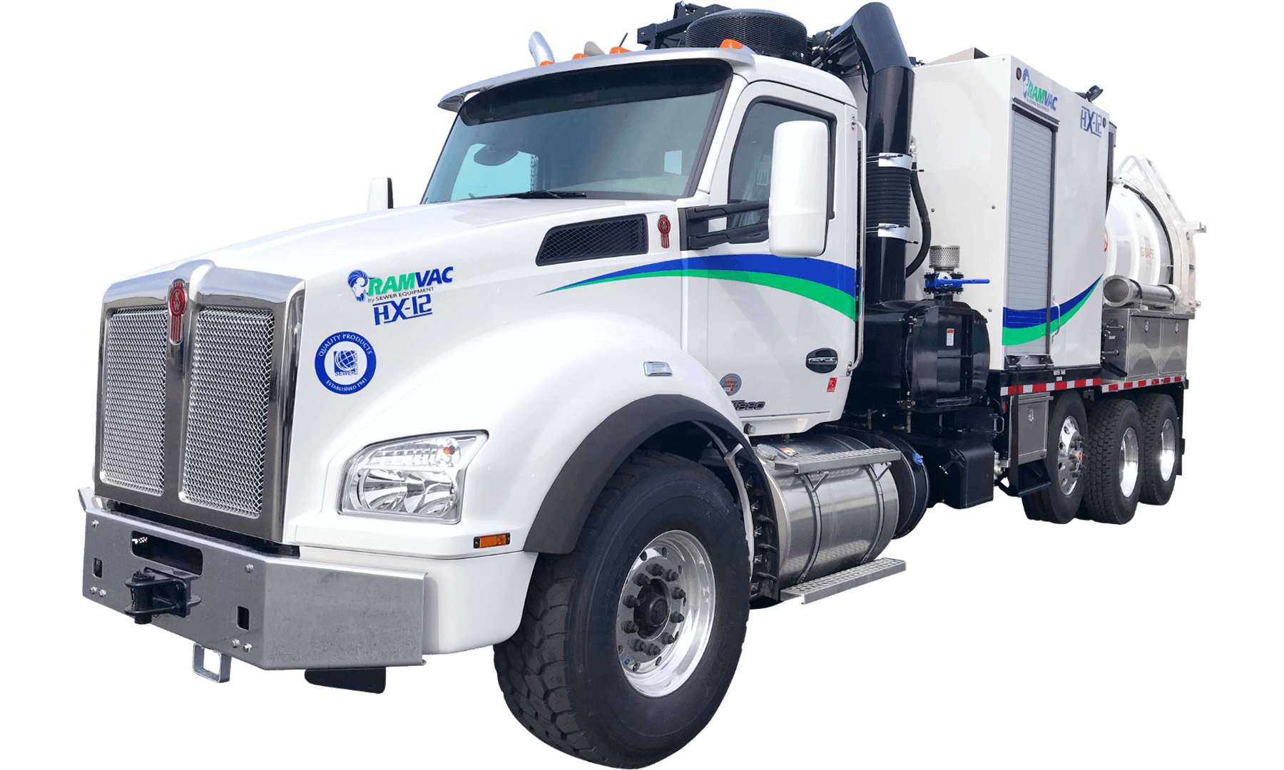 Mid-Sized Hydro Excavation Truck HX-12