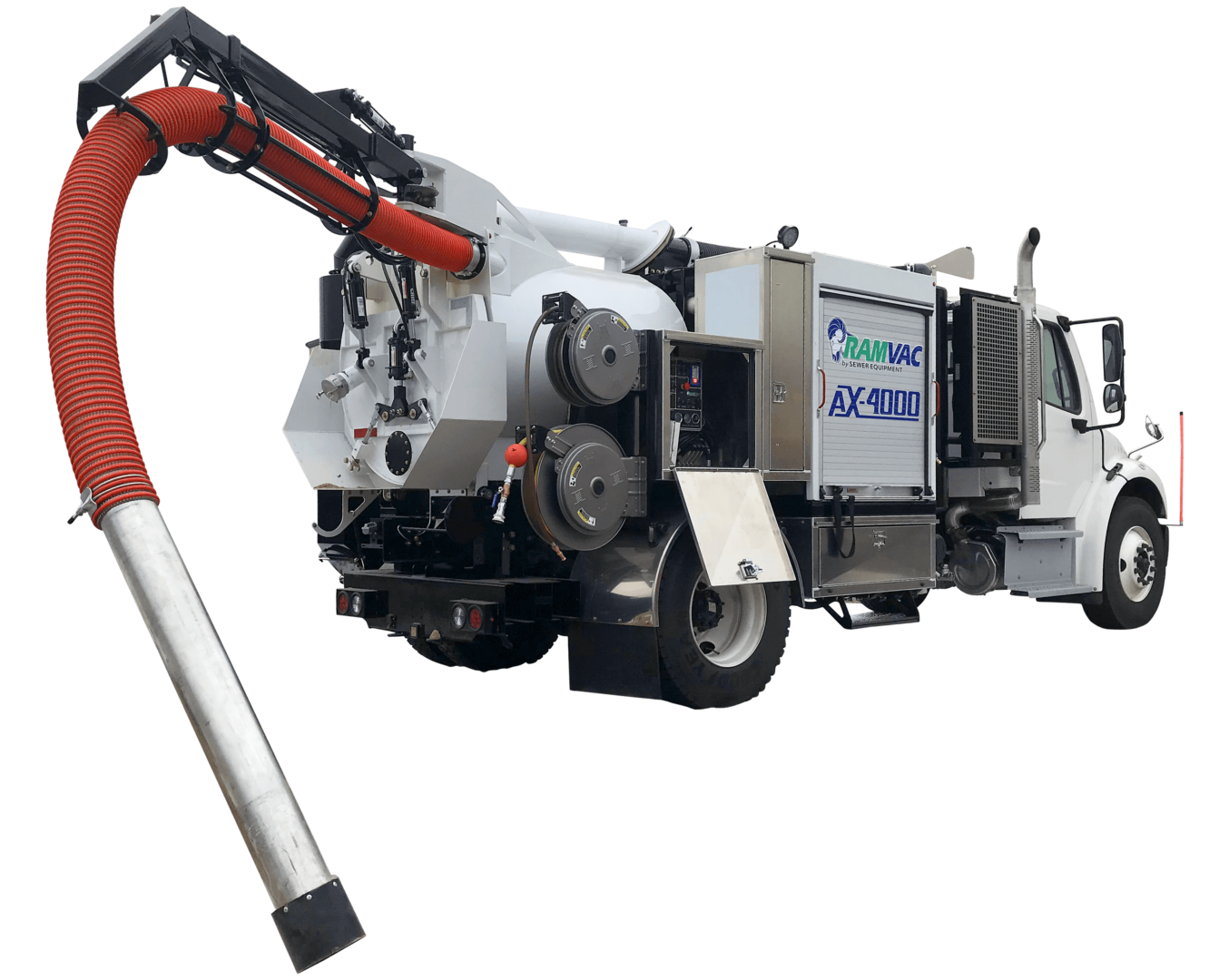 Air Excavator, AX-4000, Ramvac