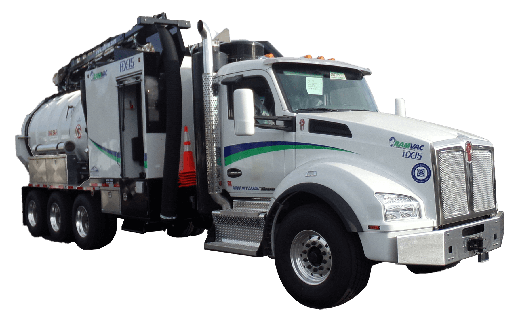 Mid-Sized Hydro Excavation Truck HX-15
