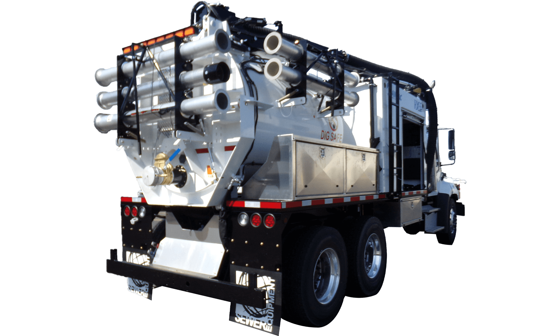 Mid-Sized Hydro Excavation Truck HX-6