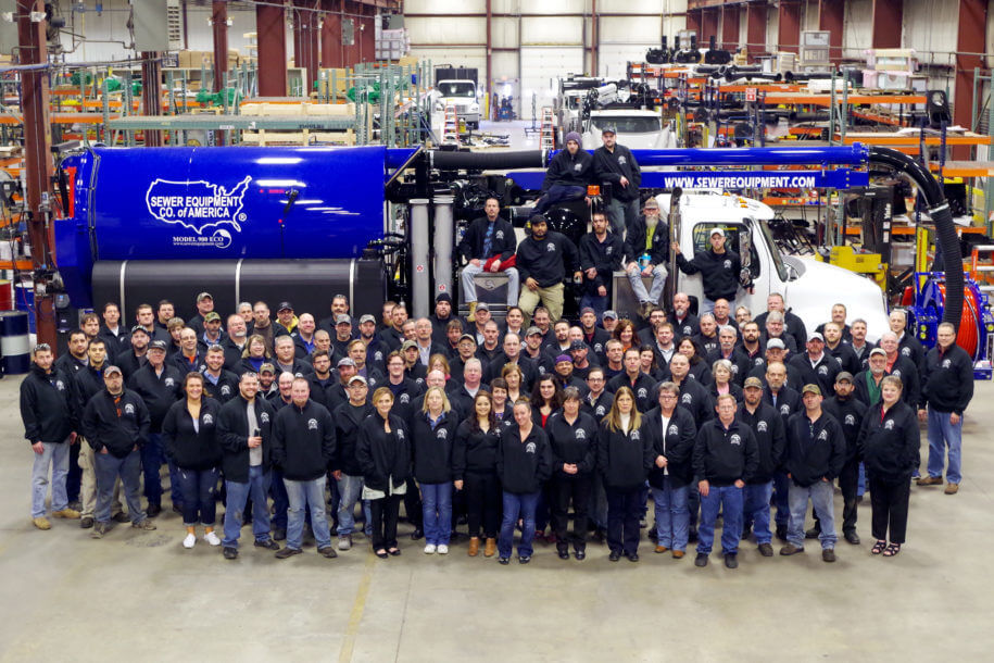 Sewer Equipment Co. of America team photo