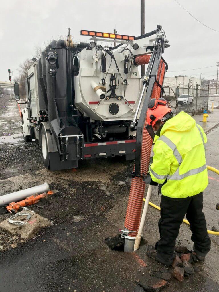 Air Excavation Application - Air Vac Truck