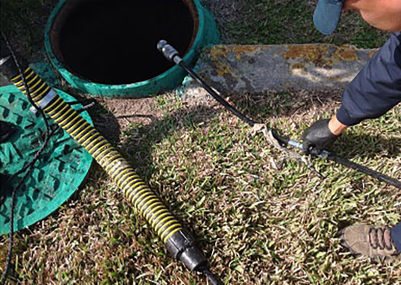 jetting sewer lines