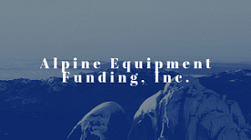 Alpine Equipment Funding Inc