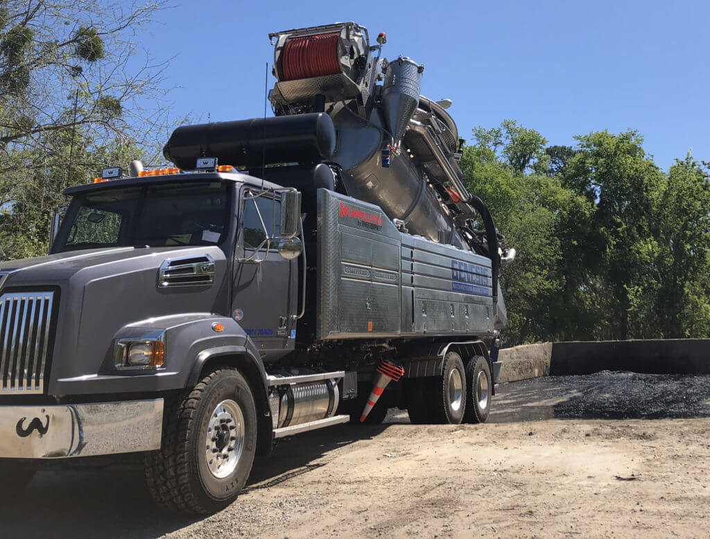 Purpose Built Water Recycing Sewer Cleaner Truck