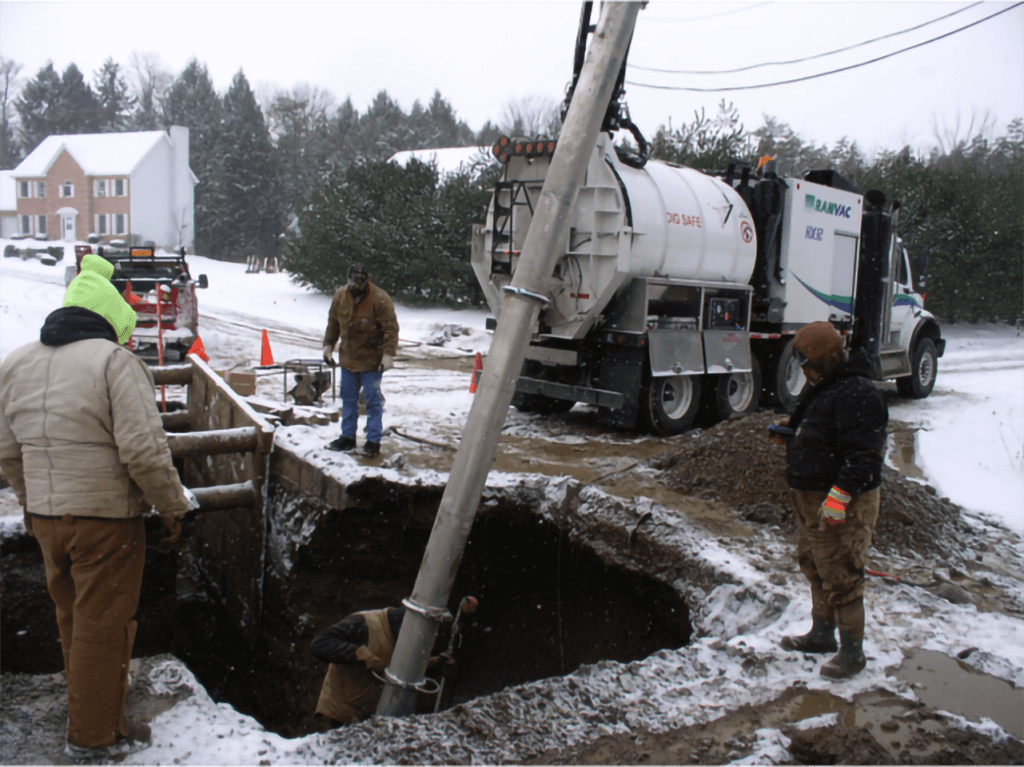 Municipal Hydro Excavation