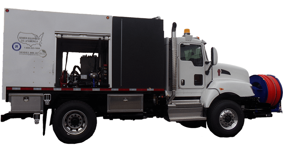 Model 800 Truck Jetter Series - Side View 2