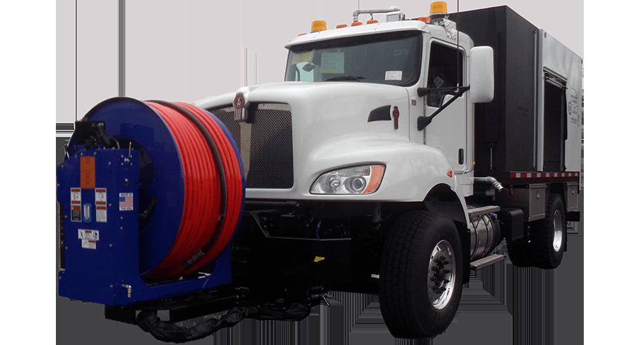 Model 800 Truck Jetter Series