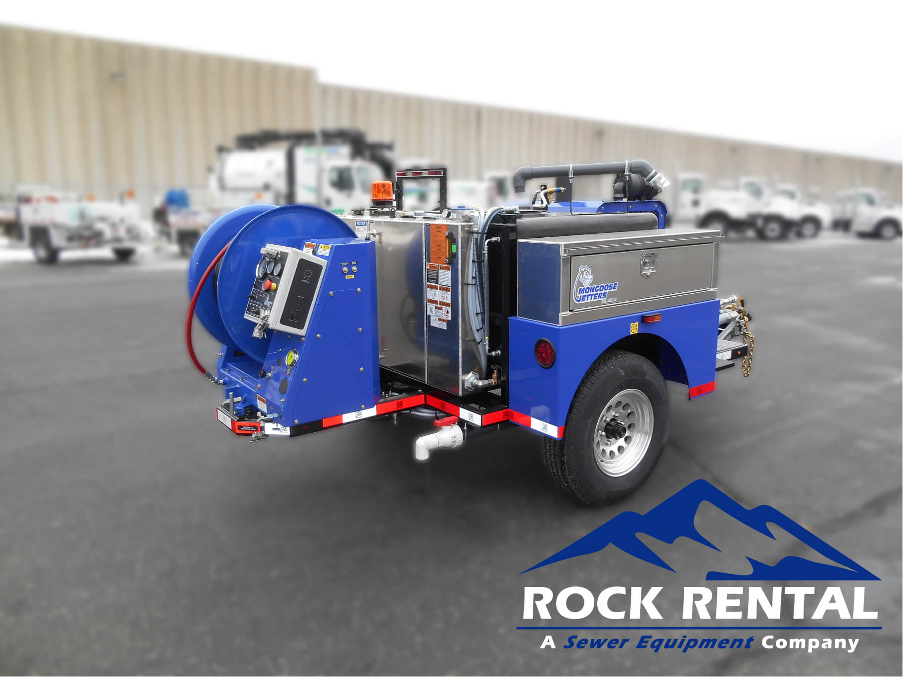 rock rental equipment